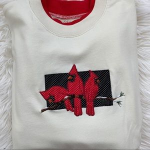 Vintage Sweaters - Vintage M&C Sportswear Cardinal Bird Sweater